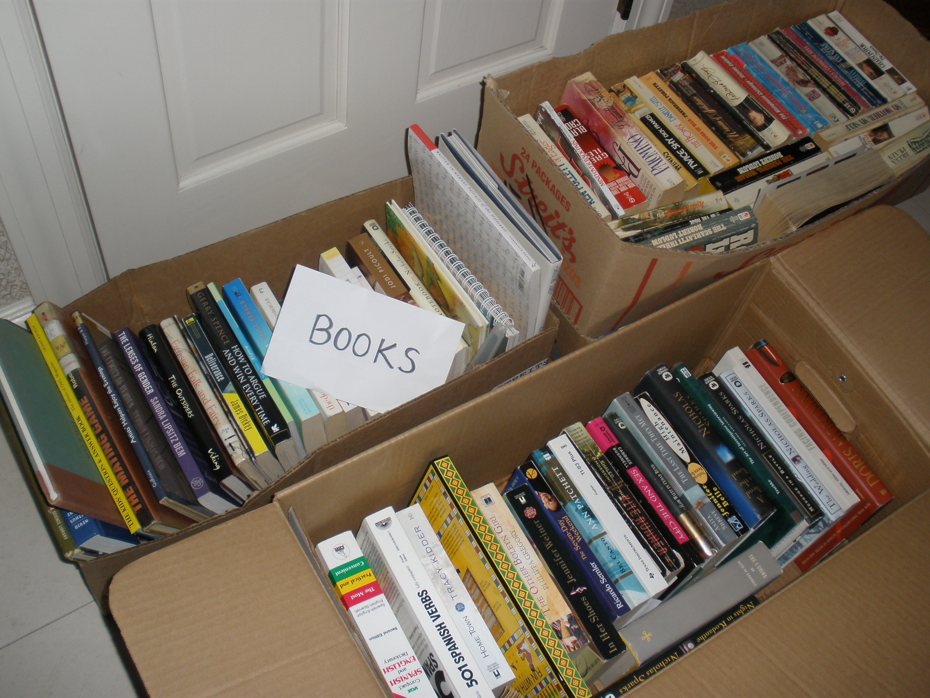 Organizing Old Books and Vinyl Records – Move the Mess