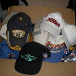 donated excess baseball caps